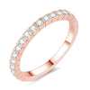Rose Pavé Ring Timelessly