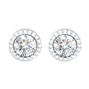Round Stud Earrings Timelessly