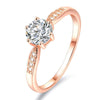 Solitaire Pavé Ring Timelessly