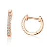Sparkling Mini Hoop Earrings Timelessly