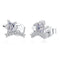 Stars Stud Earrings Timelessly