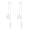 Triangle Drop Earrings Timelessly
