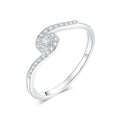 Twist Pavé Ring Timelessly