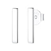 Vertical Bar Stud Earrings Timelessly