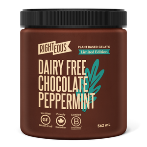 Dairy Free Chocolate Peppermint Plant Based Gelato