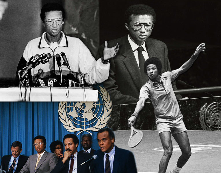 Arthur Ashe Steadily Shaped Athletic Activism