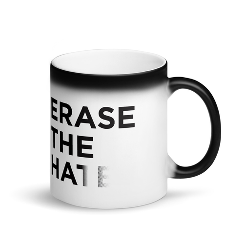 Erase the Hate Coffee Mug - Erasist | Erase The Hate