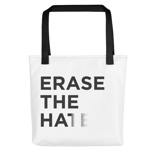 Erase The Hate Tote Bag - Erasist | Erase The Hate