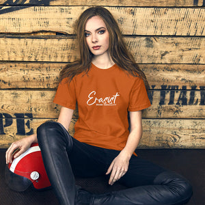 Erasist™ Logo ERASE INEQUALITY Short Sleeve Premium Unisex Tee Sizes XS - S - Erasist | Erase The Hate