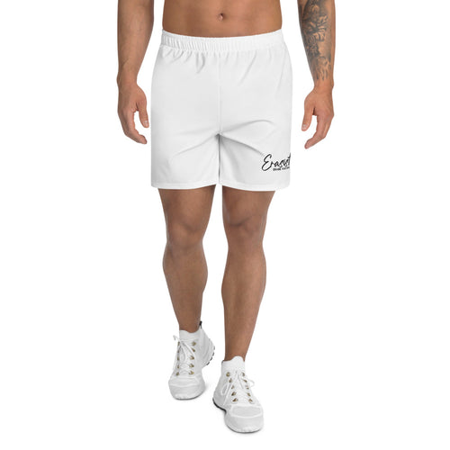 Men's Erasist™ Logo ERASE RACISM Athletic Long Shorts - Erasist | Erase The Hate