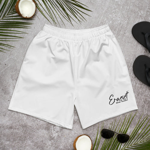 Men's Erasist™ Logo ERASE VIOLENCE Athletic Long Shorts - Erasist | Erase The Hate