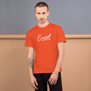 Erasist™ Logo ERASE THE HATE Short Sleeve Unisex Tee Sizes XS - L - Erasist | Erase The Hate