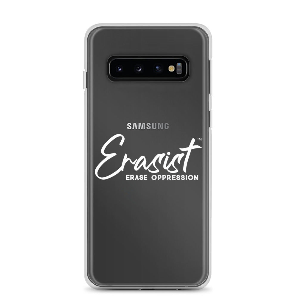 Erasist™ Logo ERASE OPPRESSION Samsung Case - Erasist | Erase The Hate
