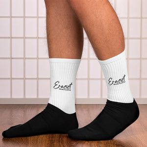 Erasist™ Logo ERASE INJUSTICE Socks - Erasist | Erase The Hate