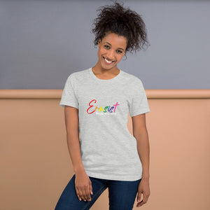 Erasist™ Pride Logo ERASE THE HATE Short Sleeve Premium Unisex Tee Sizes M - L