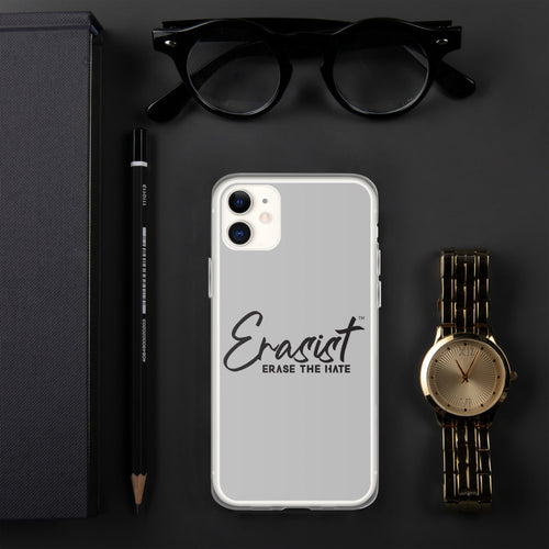 Erasist™ Logo ERASE THE HATE iPhone Case - Erasist | Erase The Hate