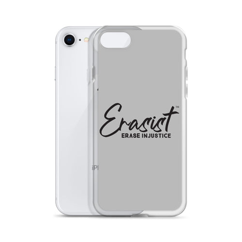 Erasist™ Logo ERASE INJUSTICE iPhone Case - Erasist | Erase The Hate