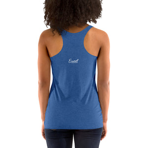 Women's Erasist™ Logo ERASE THE HATE Racerback Tank - More on Tees Pages 8 & 9