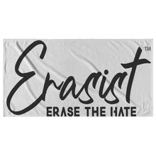 Load image into Gallery viewer, Erasist™ Logo ERASE THE HATE Beach Towel - Erasist | Erase The Hate