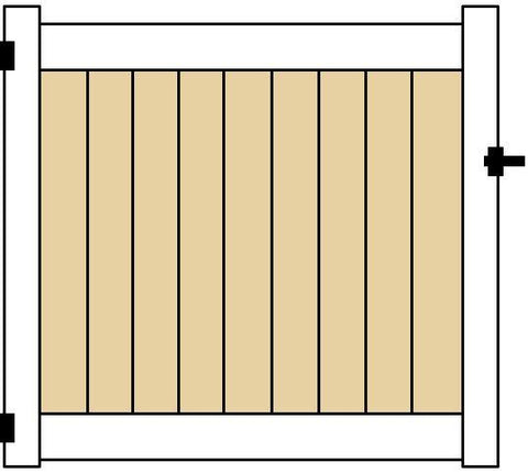 EAGLE 3 FT SINGLE GATE