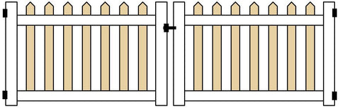 PATRIOT 3 FT DOUBLE GATE