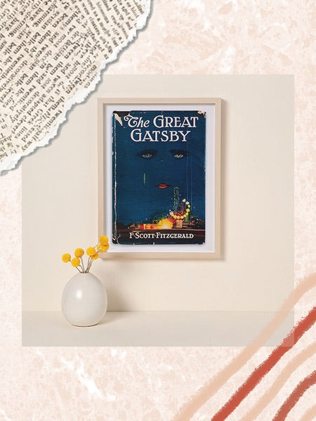 The Uncommon Goods Frame, a framed cover of your favorite readers favorite book.