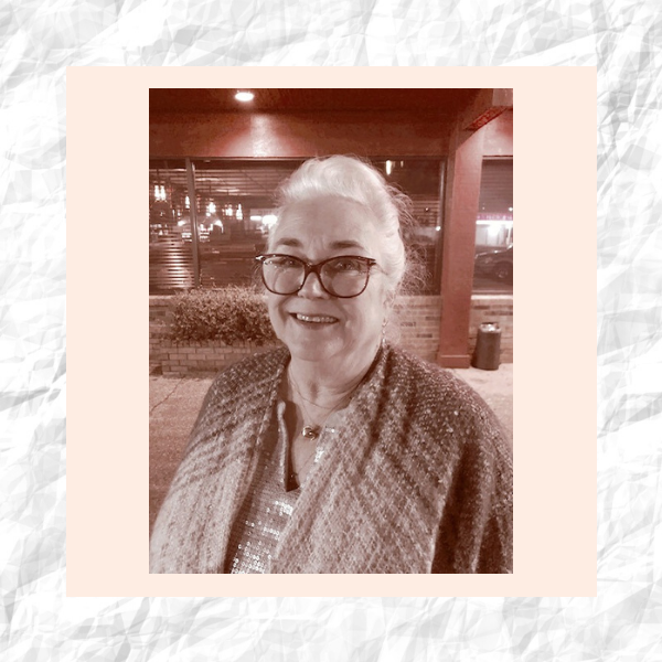 Shown here: Melanie Gilmer's mom in our Why I Wear series.