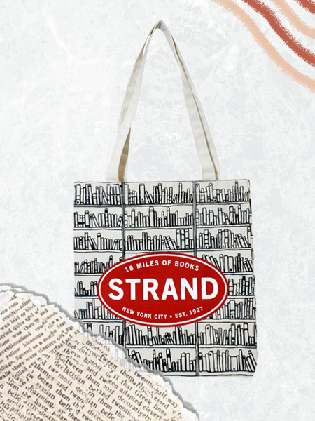 Strand Tote Bags, perfect for a trip to their favorite book store!