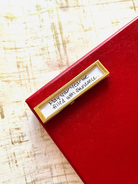 """Fortune & Frame Fortune Frame with the message """"May your year be filled with abundance."""""""