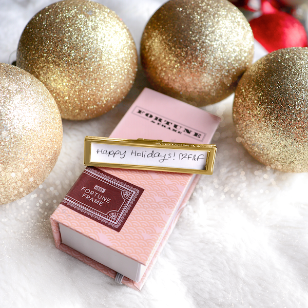 Shown here: Our Fortune Frame, a thoughtful Christmas gift for mom.