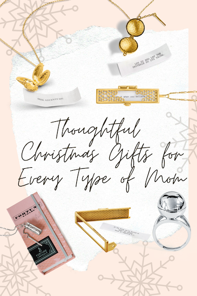 Shown Here: A Collage of Thoughtful Christmas Gifts for Mom, Holidays Theme