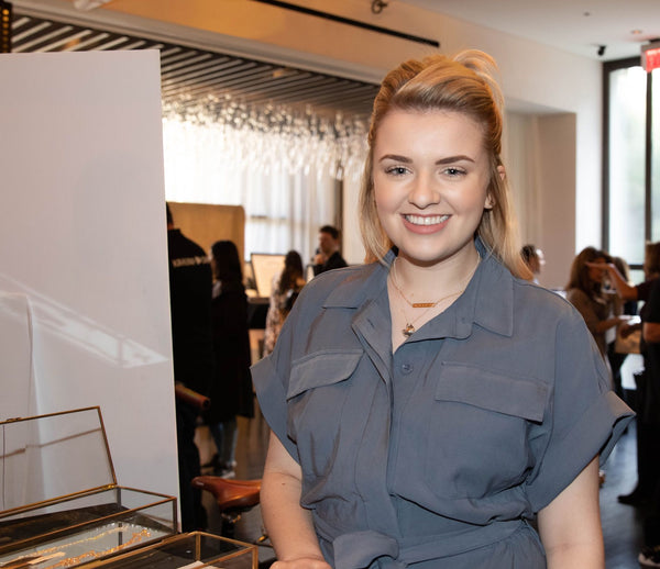 American Idol winner Maddie Poppe in Fortune & Frame fortune cookie locket