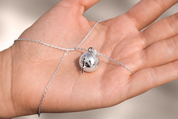 sphere and wand locket
