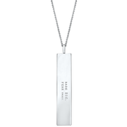"Fortune Pendants: ""Dare BIG. Fear small."" // Sterling Silver"