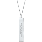 "Fortune Pendants: ""Free spirits don't ask for permission"" // Sterling Silver"