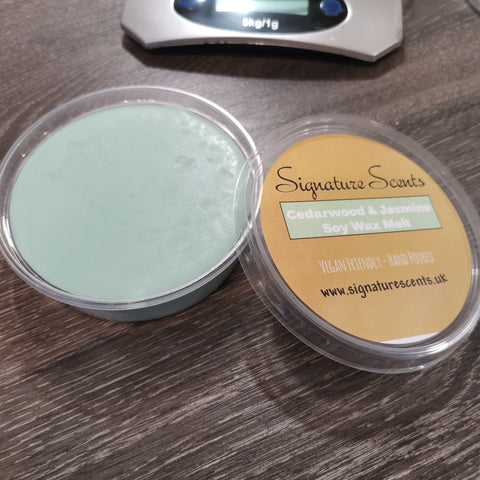 Cedarwood & Jasmine Soy Wax Melt Pod - SignatureScents UK