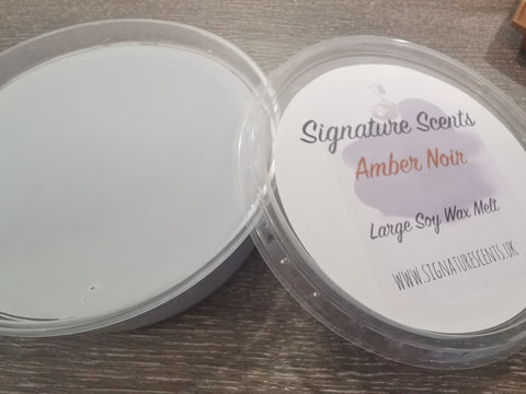 Amber Noir Soy Wax Melt Pod - SignatureScents UK