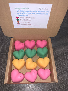 Spring Collection Small Scented Soy Wax Melts Gift Box - SignatureScents UK