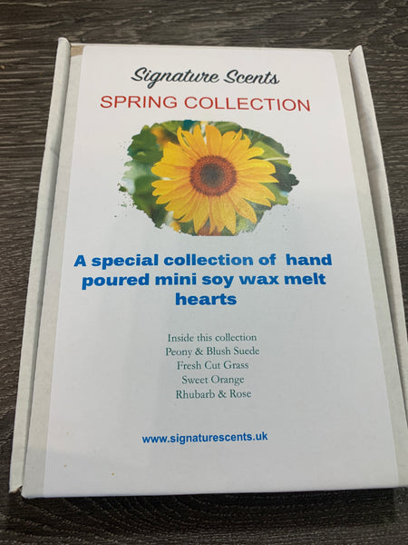 Spring Collection Large Scented Soy Wax Melts Gift Box - SignatureScents UK
