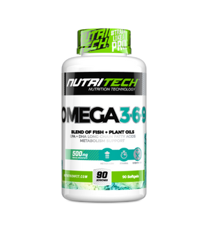 Load image into Gallery viewer, Nutritech Omega 3-6-9 90 Caps