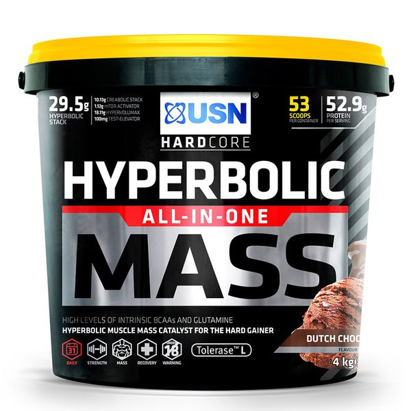 Load image into Gallery viewer, USN Hyperbolic mass 4kg Chocolate