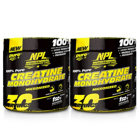 Load image into Gallery viewer, NPL Creatine Monohydrate 150g + 150g