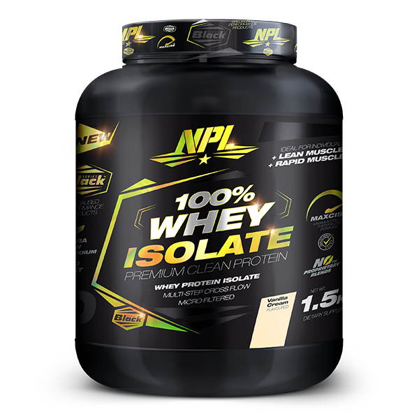 NPL 100% Whey Protein Isolate 1.5kg
