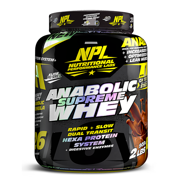 Load image into Gallery viewer, NPL Supreme anabolic Whey 1.8kg