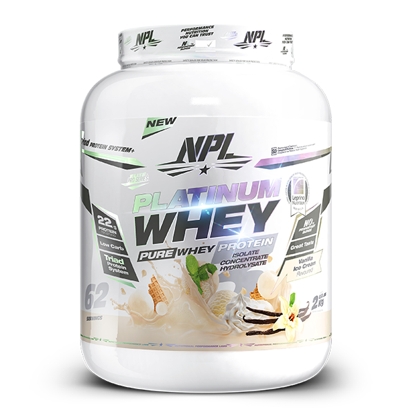 Load image into Gallery viewer, NPL Platinum Whey Protein 2kg
