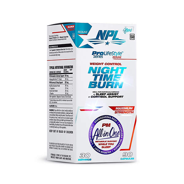 Load image into Gallery viewer, NPL Night Time Burn 90 Caps