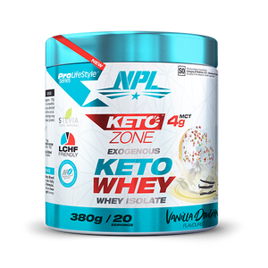 Load image into Gallery viewer, NPL Keto Whey 380g