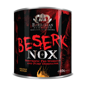 Load image into Gallery viewer, Barbarian Nutrition Beserk Nox + Shaker