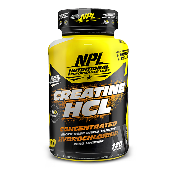 Load image into Gallery viewer, NPL Creatine HCL 120 Caps