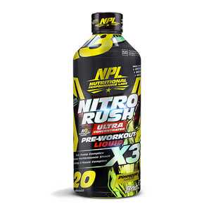 Load image into Gallery viewer, NPL Nitro Rush Liquid Pre Workout